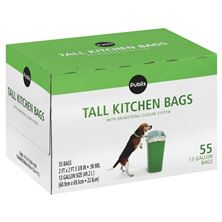 Food Storage, Wraps and Garbage Bags
